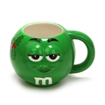 Mug by Galerie, Ceramic, M & M, Green Holiday