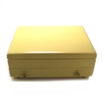 Silverware Box by Community, Wood, Blonde, Double Drawer