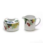 Orchard Jewels by Studio Nova, Stoneware Cream Pitcher & Sugar Bowl
