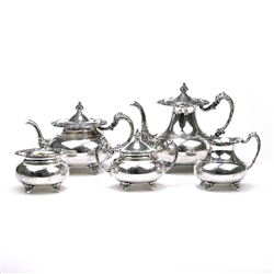Ascot by Community, Silverplate 5-PC Tea & Coffee Service