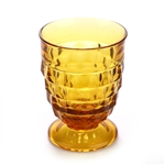 Whitehall Amber by Colony, Glass Tumbler, Footed