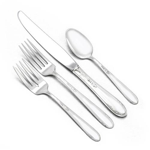 Heiress by Oneida Sterling Silver Regular Fork 7 14