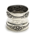 Lancaster by Gorham, Sterling Napkin Ring, Monogram JHG
