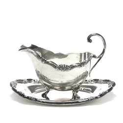 Remembrance by 1847 Rogers: Gravy Boat & Tray