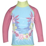 Princess of Paradise Rash Guard swimsuit