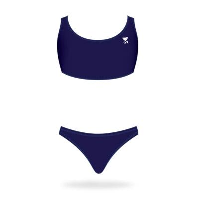 Microback workout bikini