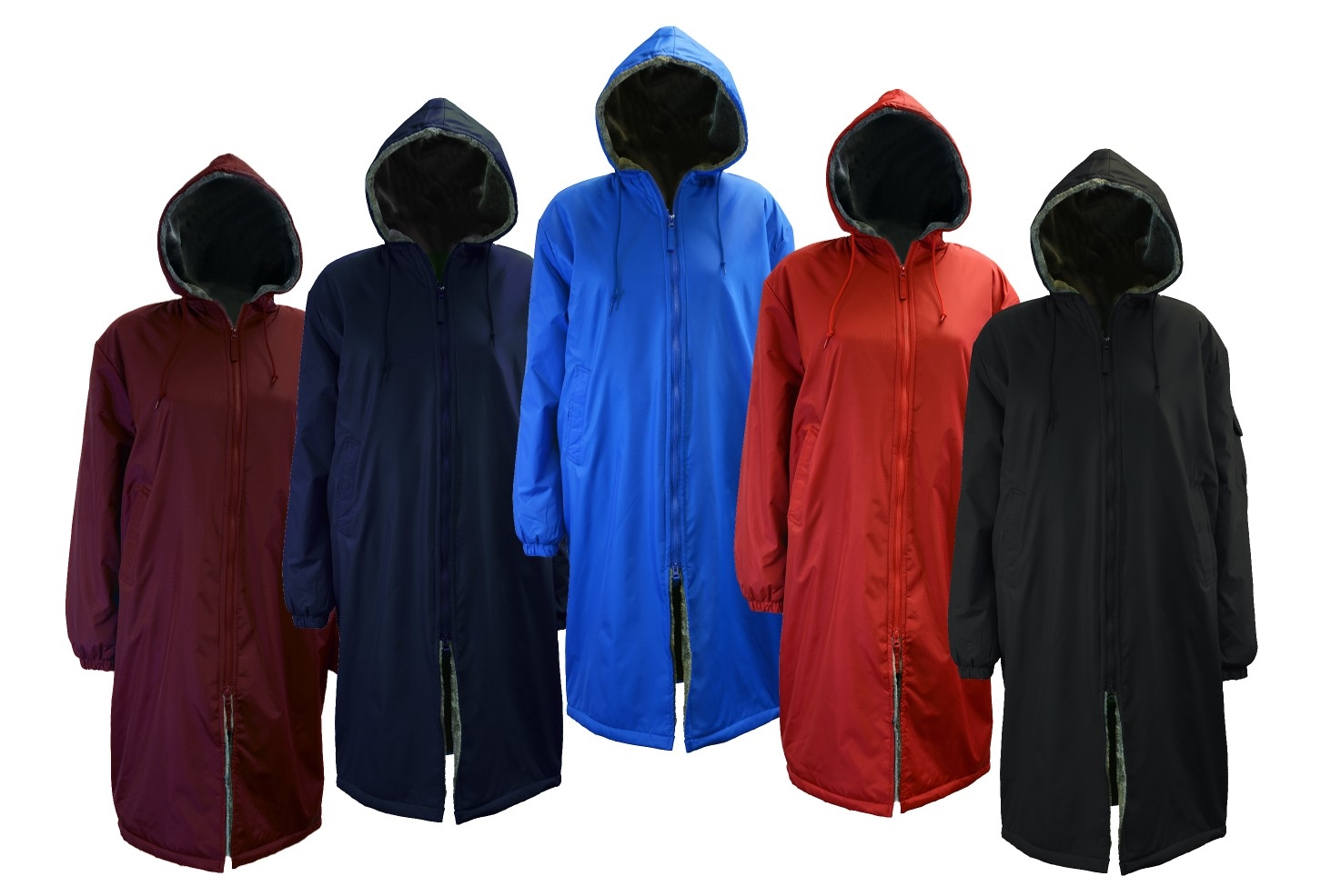 Adoretex Faux Fur Lining Swim Parka at sunwavesports.com