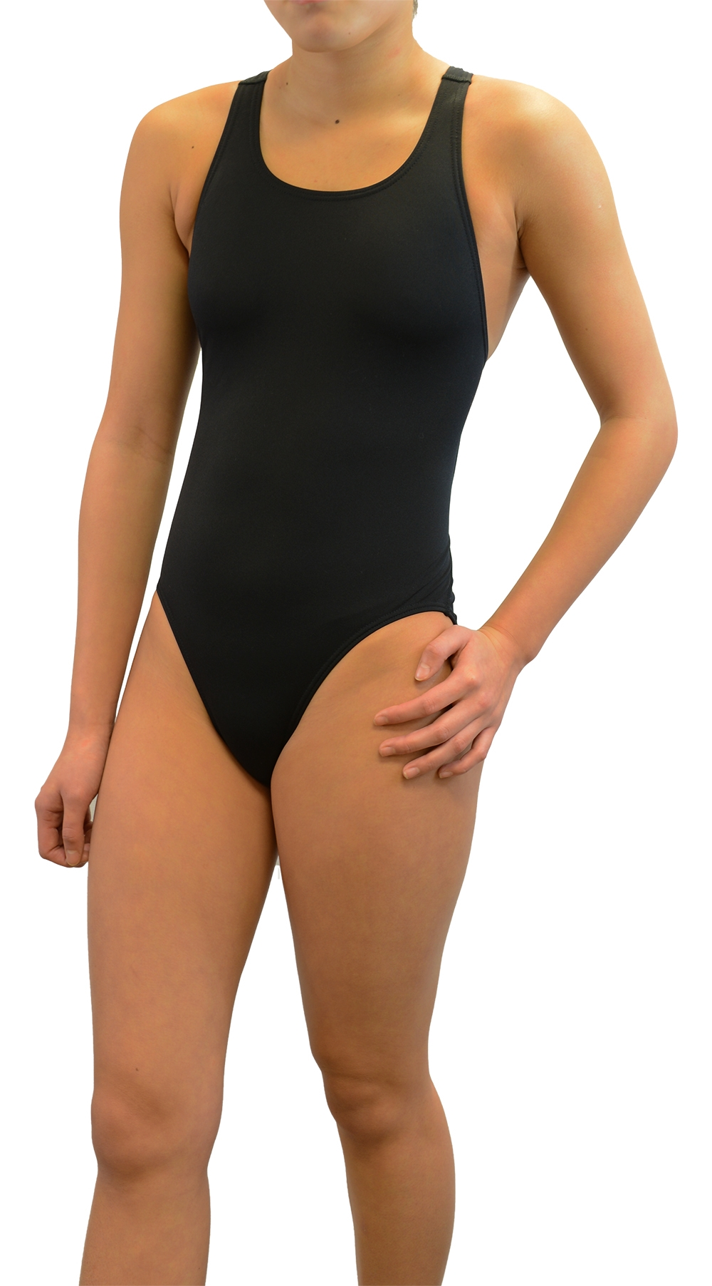 Adoretex Women's Polyester Wide Strap Training Swimsuit