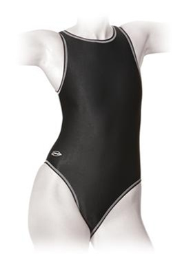 2889cd5a1c054 Finis Women s Water Polo Zipback Swimsuit Larger Photo ...