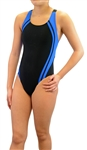 Adoretex Women's Wide Strap Training Swimsuit