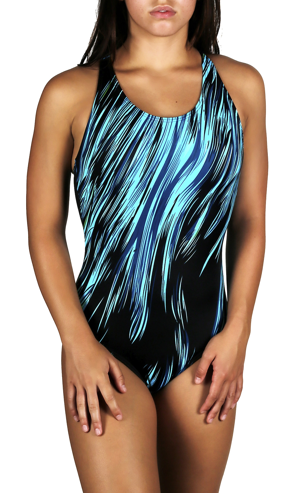 Adoretex Female Surfire  Lap Swimsuit-FS007