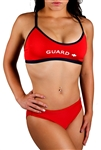 Adoretex Women's Guard Cross Back Workout Bikini Swimsuit