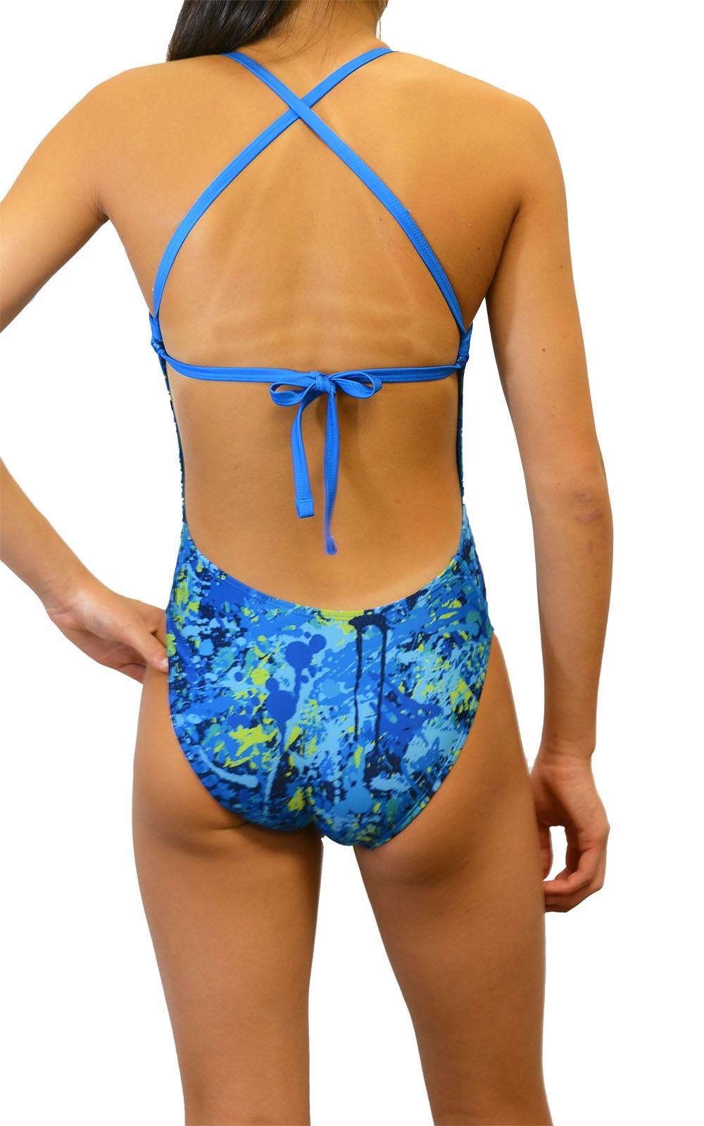 75ae80f5502ff6 Adoretex One Piece Tie-Back Swimsuit
