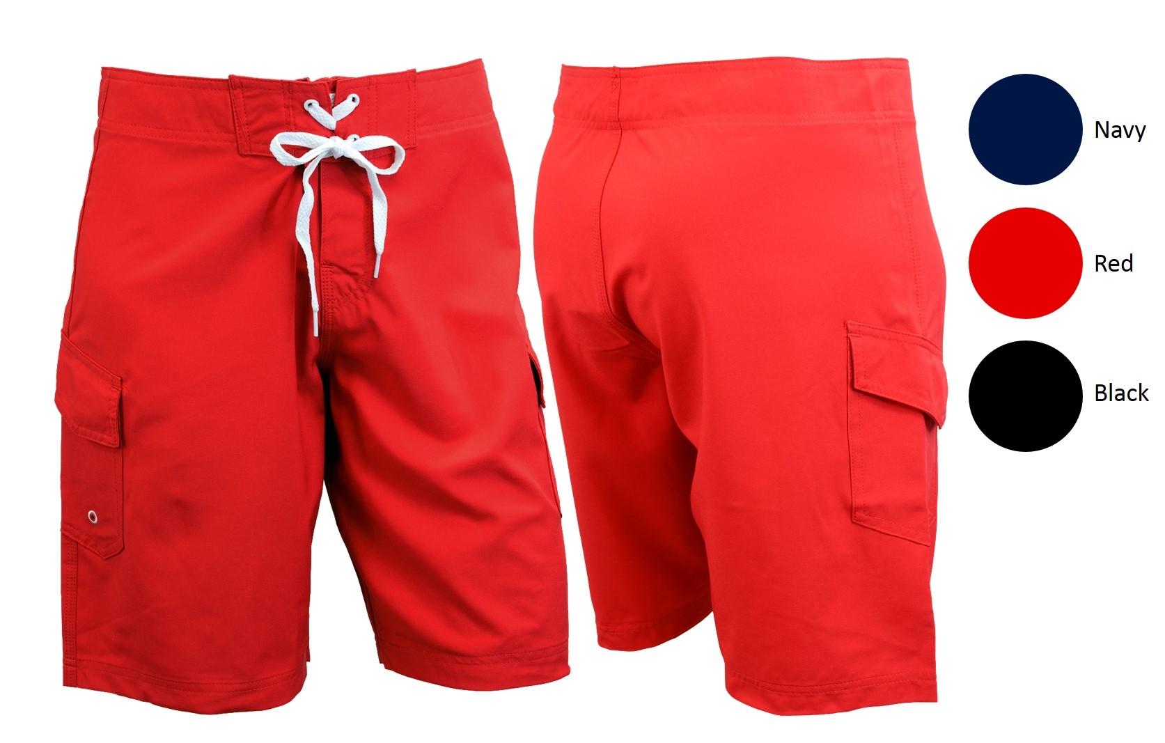 Ultrastar Men's 4-Way Stretch Swim Shorts Board Shorts