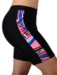 Adoretex Women's 4 Way Stretch Sport Board Shorts Swimsuit Bottom Skinny Capris Swim Shorts