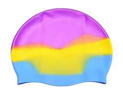Adoretex Silicone Multi Color Swim Cap