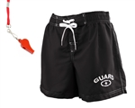 Women's Guard Board Short Swimwear (FGB06) with FREE Whistle and Lanyard