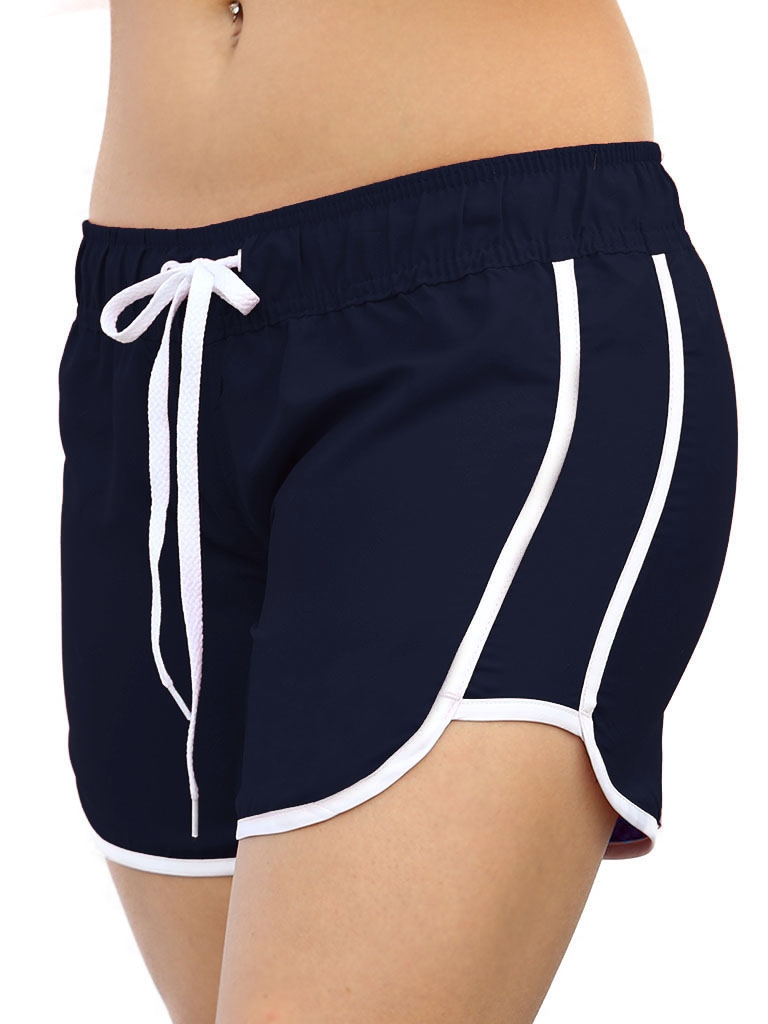6628be1037 Women's Quick Dry Swim Shorts with Stretch Waistband at ...