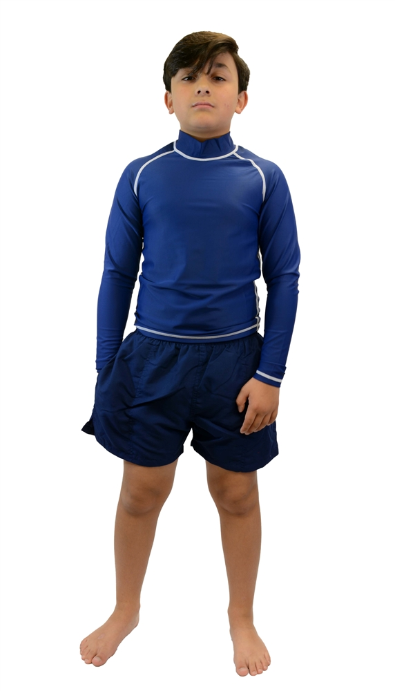 Adoretex Boys//Mens Xtra Life Lycra Solid Swim Shorts Jammer Swimsuit