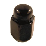 Black Lug Nut - 1/2""