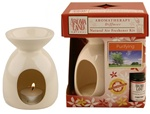 Aromatherapy Diffuser - Simplicity Latte with Purifying Blend