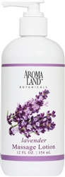 Massage Lotion Lavender 12 oz.