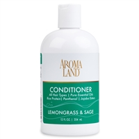 Aromatherapy+ Conditioner - Lemongrass & Sage 12 oz.