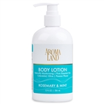 Aromatherapy+ Hand & Body Lotion - Rosemary & Mint 12 oz.