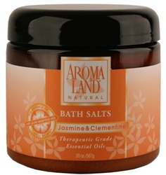 Bath Salts - Jasmine &; Clementine 20 oz. (24 bulk pack)
