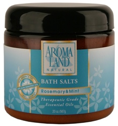 Bath Salts - Rosemary &Mint 20 oz. (24 bulk pack)