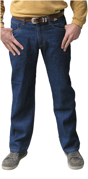 Chi Gusseted Hemp Jean