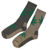 Men's Hemp Leaf Socks