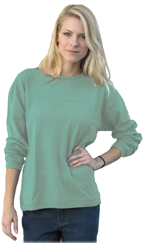Over-sized Horizon Long Sleeve Hemp Tee