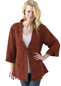 "Tai Chi Jacket. Dash Hemp's 100% Hemp ""Linen"" jacket"