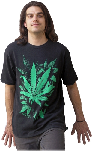 hemp leaf shirt