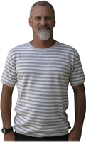 Barbados stripe hemp t shirt
