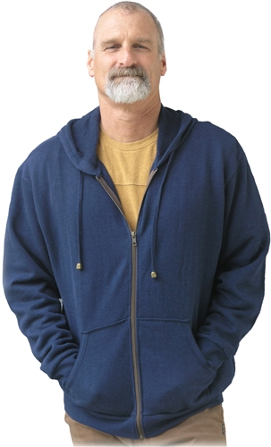 Men's Hemp fleece Hoodie