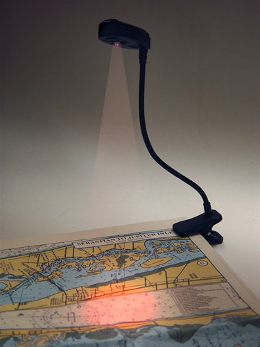 & Clip-on Chart and Reading Light for Night Vision
