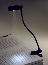 LED clip-on reading lights- 2 pack