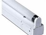 1 lamp T8 24 inch premium industrial-commercial grade fluorescent fixture complete with electronic ballast and lamp