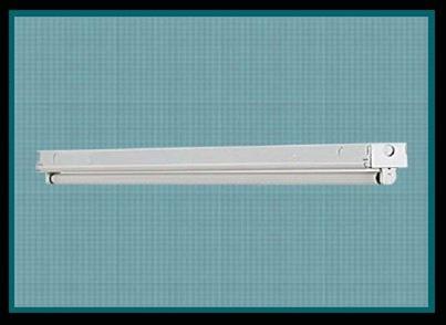 1 lamp T8 24 inch premium industrial-commercial grade fluorescent ...