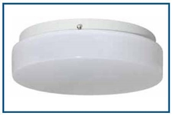 Ceiling mounted LED lighting fixture