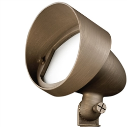 Large halogen landscape light wall washer