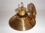 Solid Brass Wall Sconce Light with Swivel mount for Aiming the Light Direction