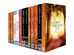 JEM DVD library excluding Living Torah & Farbrengens  (67 Discs)