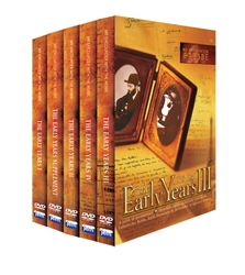 My Encounter with the Rebbe: The Early Years Set (Volumes 1-4 plus Supplement DVD)