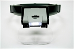 Illuminated Multi-Power Head Magnifier