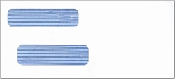 Small Double Window Envelope MICRpro