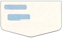 Double Window Envelope - Inverted Flap MICRpro