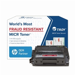 Genuine TROY Brand MICR 4250/4350 High Yield Toner Cartridge - 0281136001